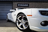 2012 Chevy Camaro SS Aluminum Wheels AFTER Chrome-Like Metal Polishing and Buffing Services - Aluminum Polishing - Wheel Polishing