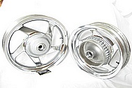 Polish Aluminum Wheels Mirror Finish http://mirrorfinishpolishing.com/CHROME-LIKE-METAL-POLISHING-CUSTOMER-PARTS-WHEELS-4.HTML