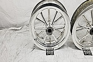 Halibrand Magnesium Wheels AFTER Chrome-Like Metal Polishing and Buffing Services / Restoration Services - Magnesium Polishing