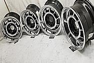 Grand National Aluminum Wheels AFTER Chrome-Like Metal Polishing - Aluminum Polishing