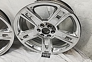 GM - General Motors Aluminum Wheels AFTER Chrome-Like Metal Polishing - Aluminum Polishing