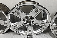 GM - General Motors Aluminum Wheels AFTER Chrome-Like Metal Polishing - Aluminum Polishing