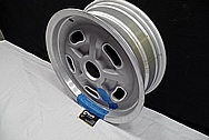 Aluminum Wheel BEFORE Chrome-Like Metal Polishing and Buffing Services / Restoration Services