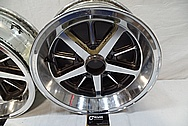 Aluminum Wheel BEFORE Chrome-Like Metal Polishing and Buffing Services / Restoration Services and Custom Painting Services