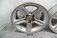 Ford Lightning Aluminum Wheels BEFORE Chrome-Like Metal Polishing - Aluminum Polishing Services - Wheel Polishing Services