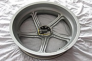Ducati MH900e Aluminum Wheels BEFORE Chrome-Like Metal Polishing and Buffing Services / Restoration Services