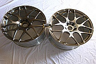 Aluminum HRE Wheels BEFORE Chrome-Like Metal Polishing and Buffing Services / Restoration Services