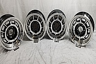 Grand National Aluminum Wheels BEFORE Chrome-Like Metal Polishing - Aluminum Polishing