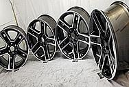 GM - General Motors Aluminum Wheels BEFORE Chrome-Like Metal Polishing - Aluminum Polishing