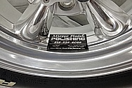 Aluminum Wheels BEFORE Chrome-Like Metal Polishing and Buffing Services - Aluminum Polishing Services - Wheel Polishing