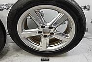 Aluminum Wheels BEFORE Chrome-Like Polishing and Buffing - Aluminum Polishing - Wheel Polishing
