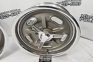 Aluminum Kidney Bean Wheels BEFORE Chrome-Like Polishing and Buffing - Aluminum Polishing - Wheel Polishing