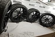 McLaren 720S Aluminum Wheels BEFORE Chrome-Like Metal Polishing and Buffing Services - Aluminum Polishing Services - Wheel Polishing