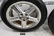 Mercury Marauder Aluminum Mesh Style Wheels BEFORE Chrome-Like Metal Polishing - Aluminum Polishing - Wheel Polishing