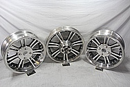 2013 Harley Davidson Tri-Glide Trike Aluminum Wheels BEFORE Chrome-Like Metal Polishing and Buffing Services / Restoration Services