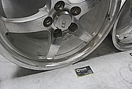 CCW SP500 Aluminum Racing Wheels BEFORE Chrome-Like Metal Polishing and Buffing Services