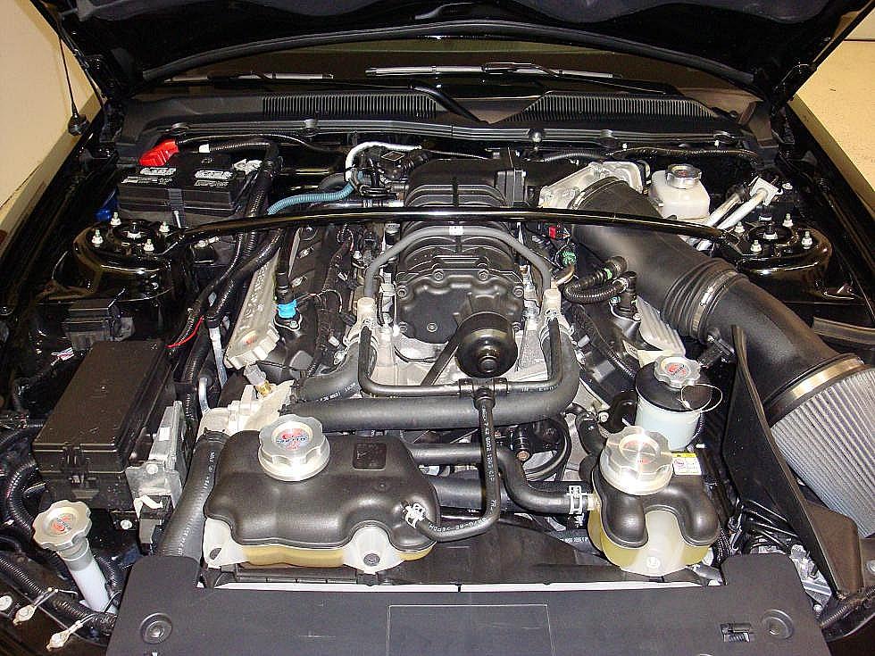 2008 Shelby GT500 Customer Engine Photos