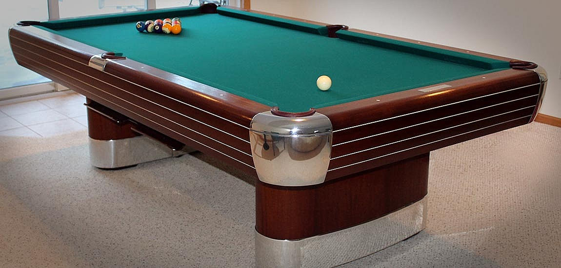Metal PolishingBuffing Services Premium Polishing Of Aluminum - Chrome pool table