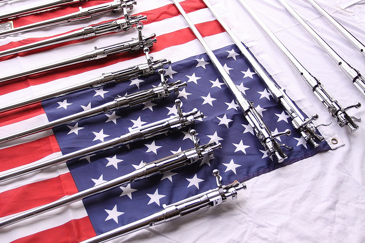U.S. Military Stainless Steel Springfield Rifles AFTER Custom Metal Polishing and Buffing Services