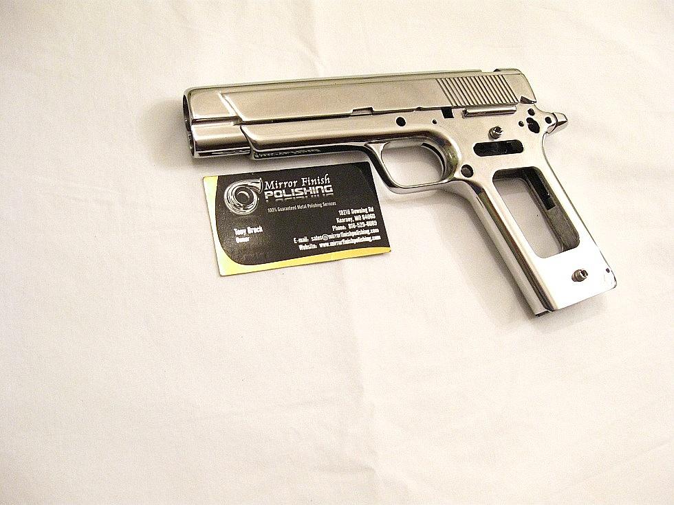 Coonan Classic 357 Semi-Auto Gun AFTER Custom Metal