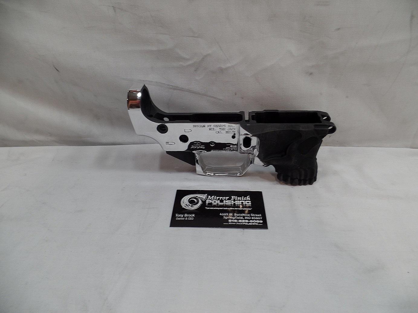 Gun Metal Polishing & Buffing Services | Mirror Finish