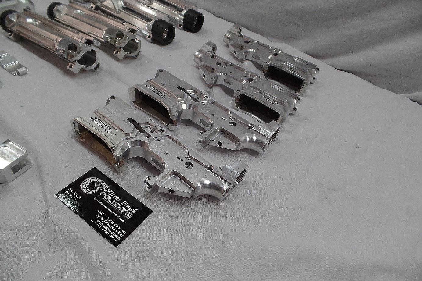Gun Metal Polishing & Buffing Services   Mirror Finish