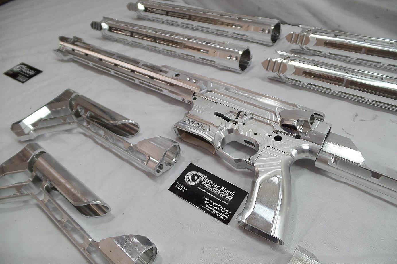 Gun Metal Polishing & Buffing Services | Mirror Finish Polishing