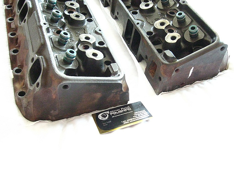 Cylinder Head Polishing & Buffing Services | Mirror Finish