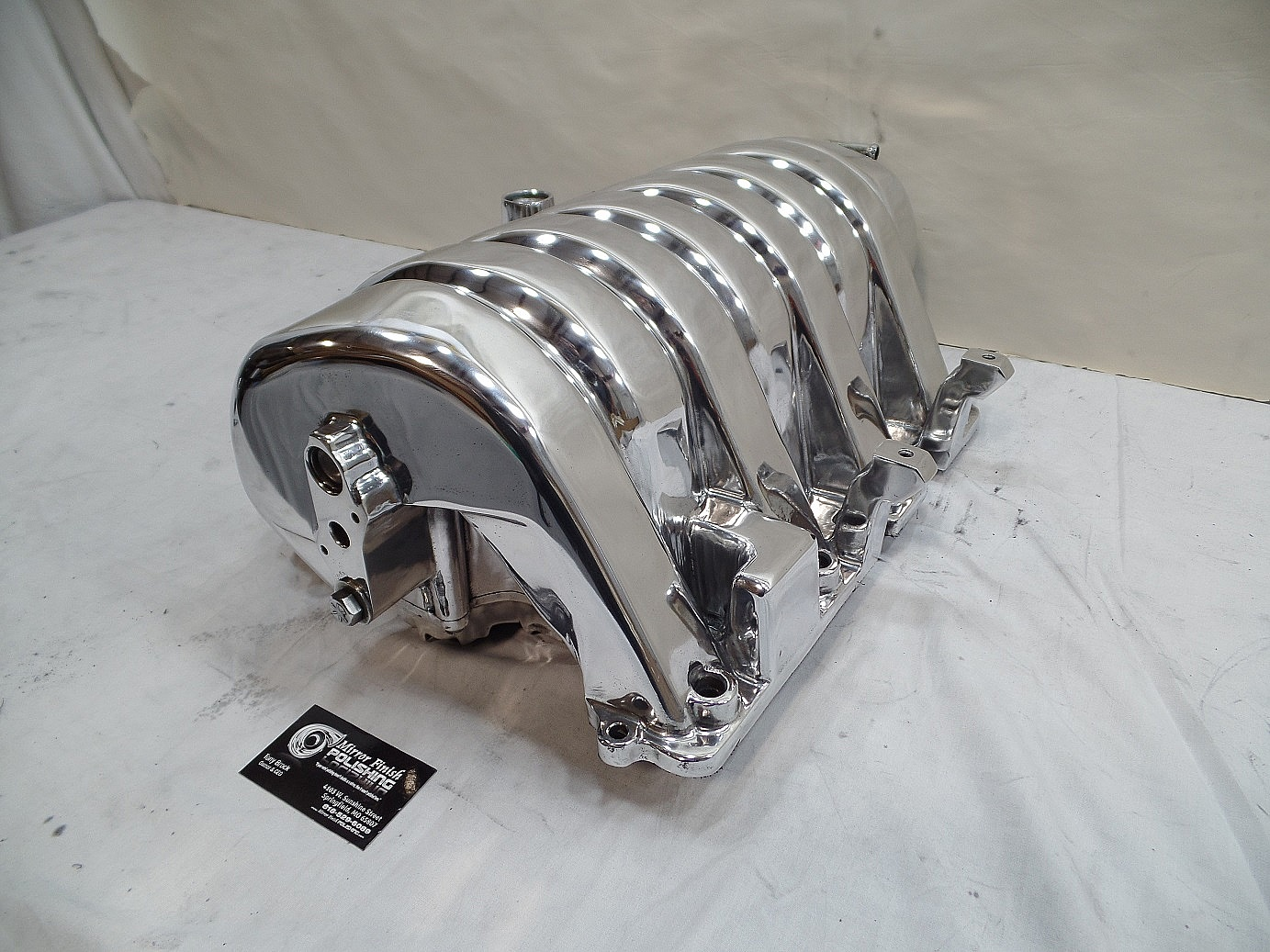 dodge hemi 6 4l intake manifold for 1973 duster aluminum. Black Bedroom Furniture Sets. Home Design Ideas