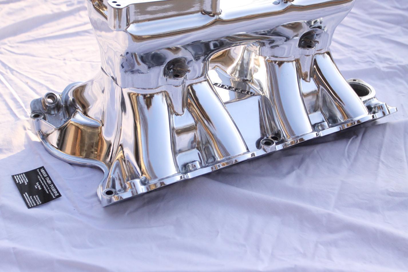 Intake Manifold Metal Polishing & Buffing Services   Mirror