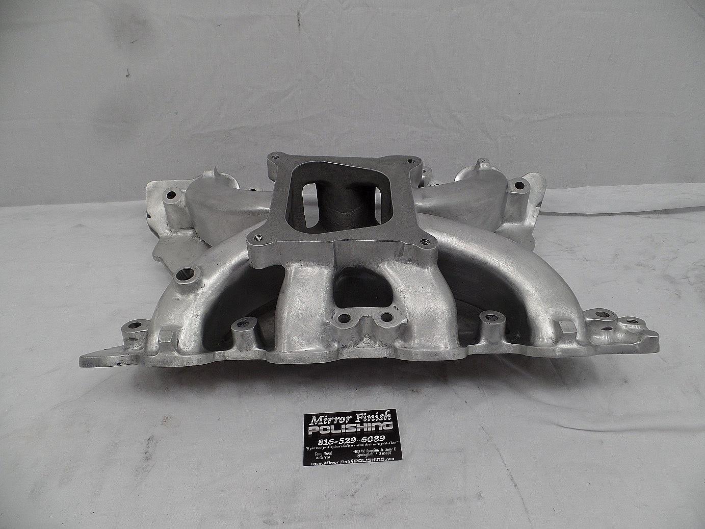 Intake Manifold Metal Polishing & Buffing Services | Mirror