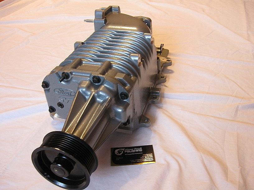 Supercharger blower mustang - photo#11