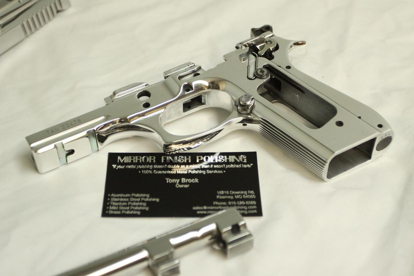 Taurus Pt99 Gun Polishing Services
