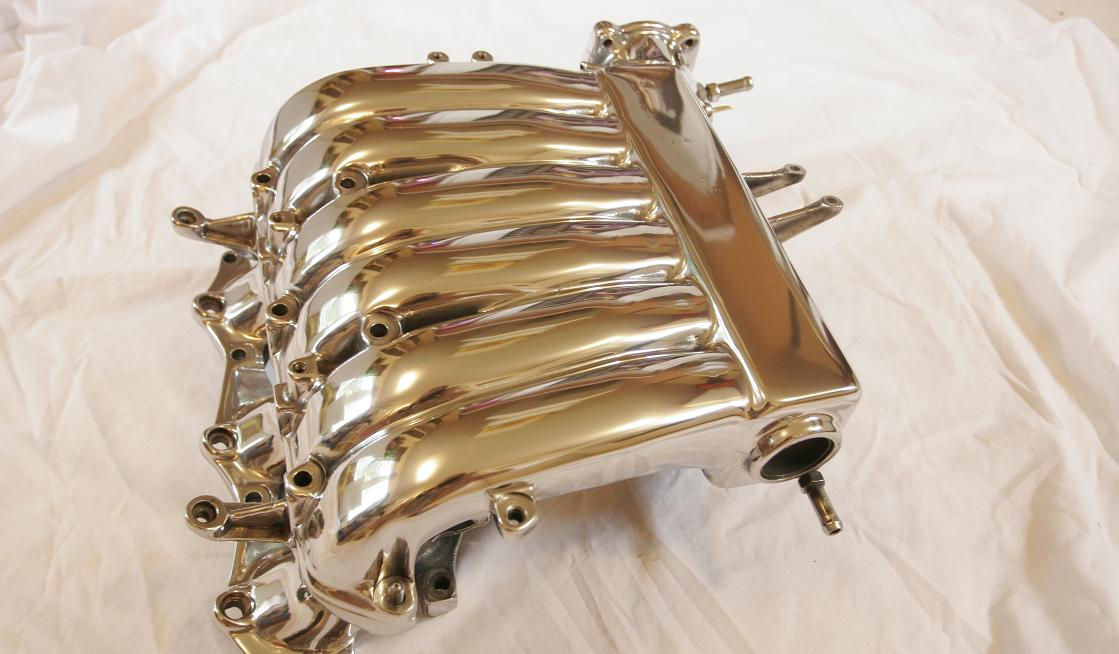 CHROME-LIKE POLISHING PARTS MITSUBISHI 3000GT ALUMINUM INTAKE MANIFOLD
