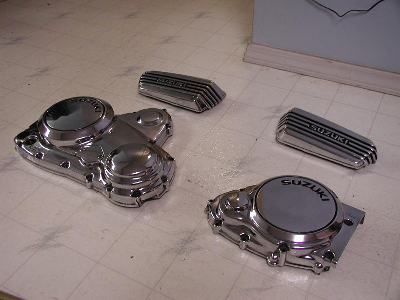 Chrome-Like-Polished Brake Calipers...Click for Larger Image