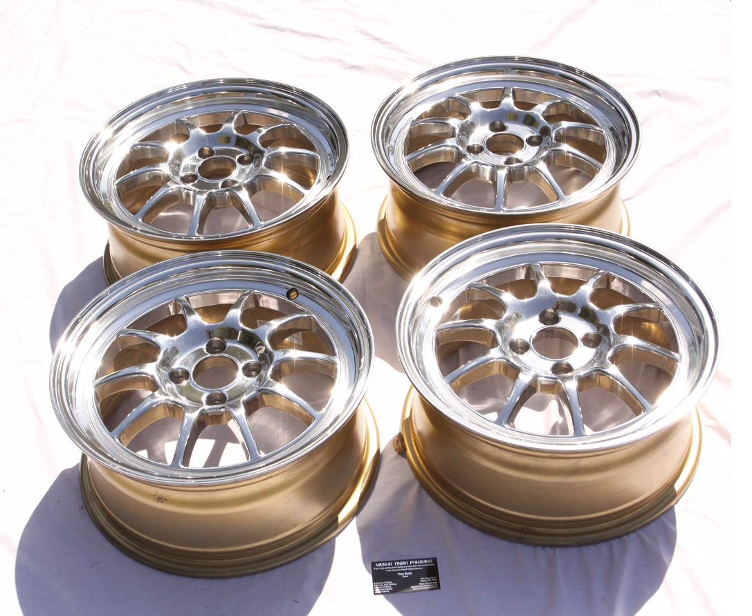 Polish Aluminum Wheels Mirror Finish http://www.kcsr.org/showthread.php?t=35643